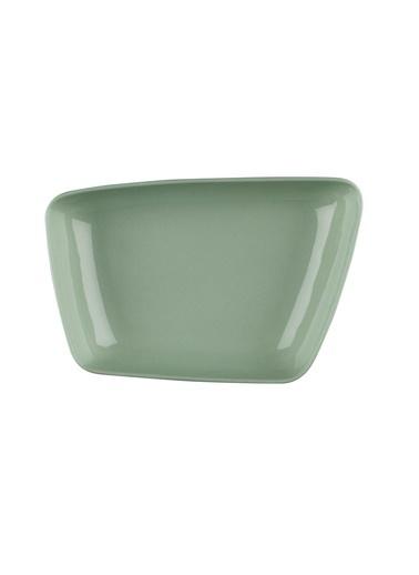 Kütahya Porselen Arp 20X13 Cm Çukur Tabak Yeşil Yeşil